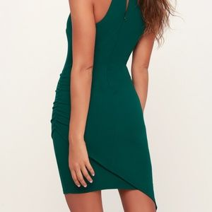 Lulu's Dresses - Lulus You Can't Ruche Love Ruched Bodycon Dress M